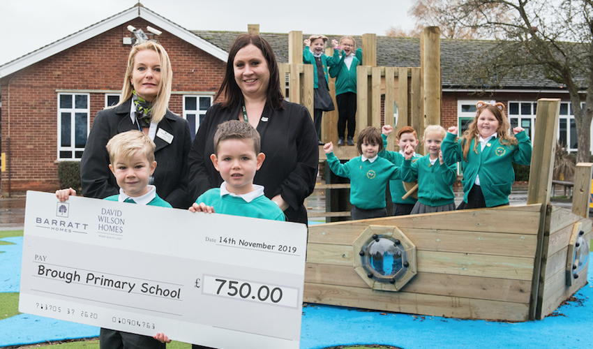 Brough Primary School Splashes Out On New Playboat