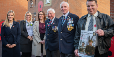 Barratt Homes' Poppy Fields Development Honours Hull's Hero's