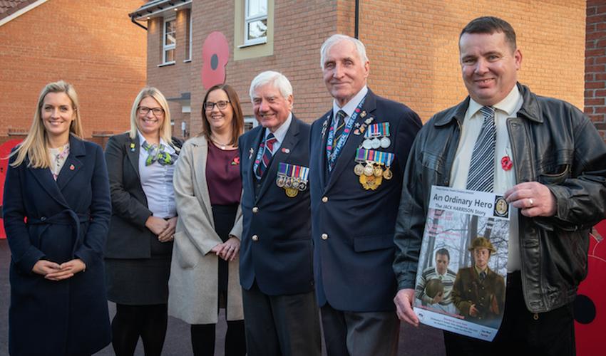 Barratt Homes' Poppy Fields Development Honours Hull's Hero's