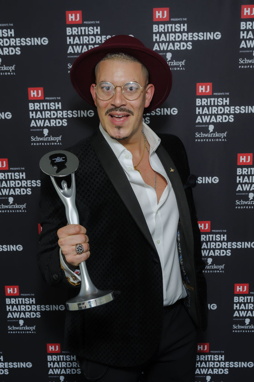 Rick Roberts Wins Impressive National Hairdressing Title