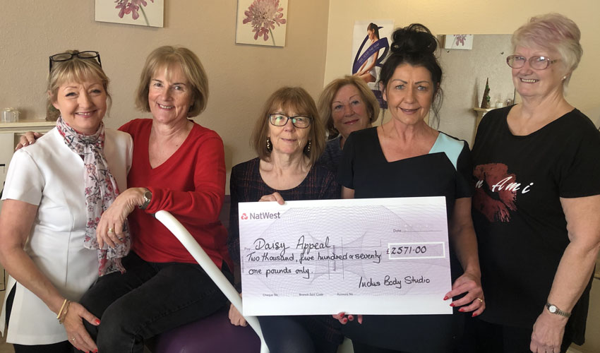 Inches And Pounds Add Up To A Weighty Contribution To Daisy Appeal