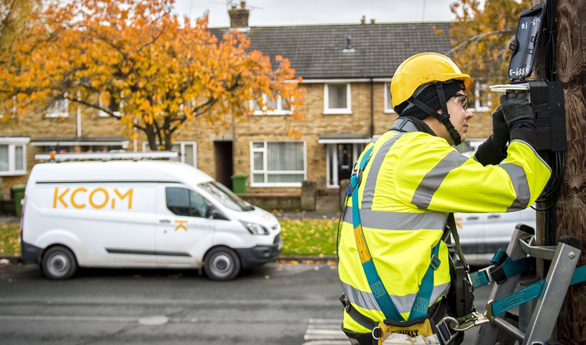 KCOM Announces Further £100m Full-Fibre Broadband Investment