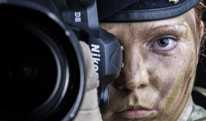 Soldier From Beverley Becomes First Female To Win British Army Photographer Of The Year