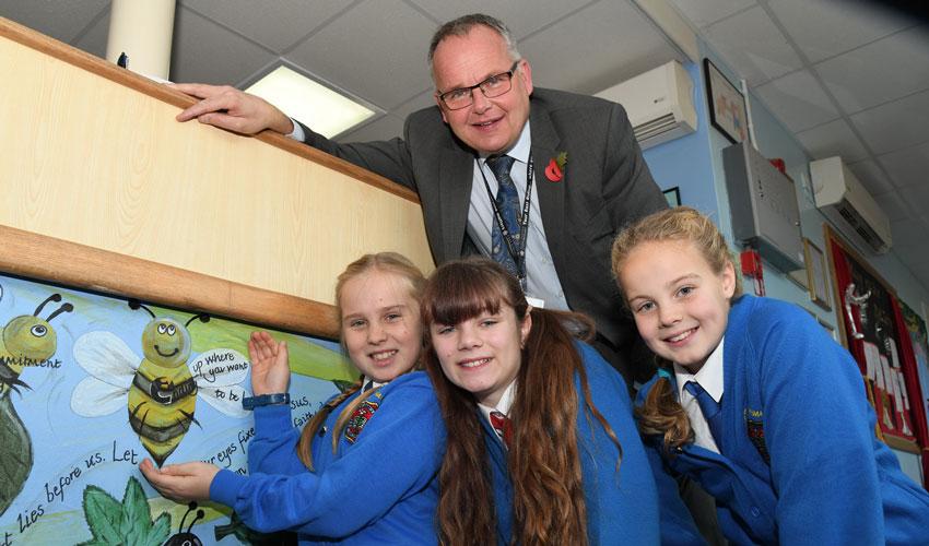Beverley School Children Convince Council To Bee Nicer