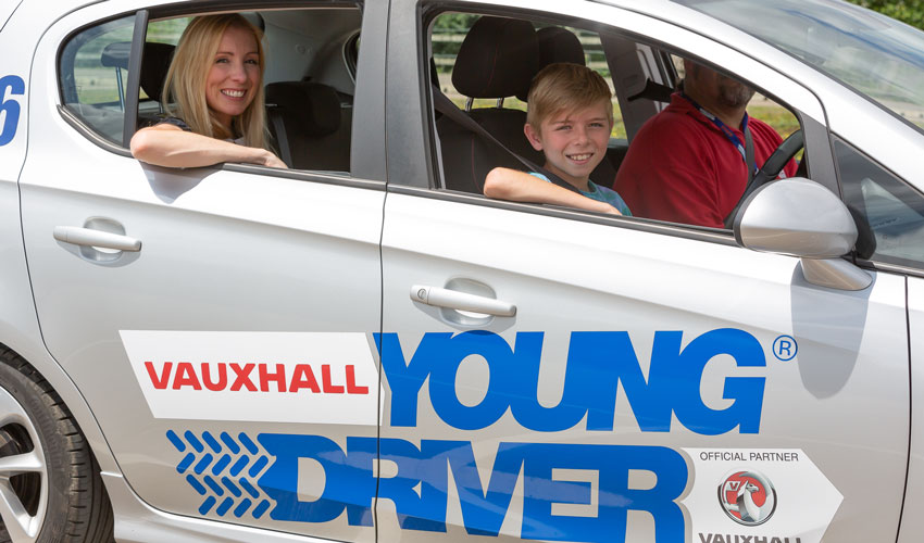 Half Term Driving Lessons For 10 To 17-Year-Olds
