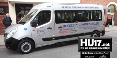 Golden Moment As Beverley Charity Launches New Minibus