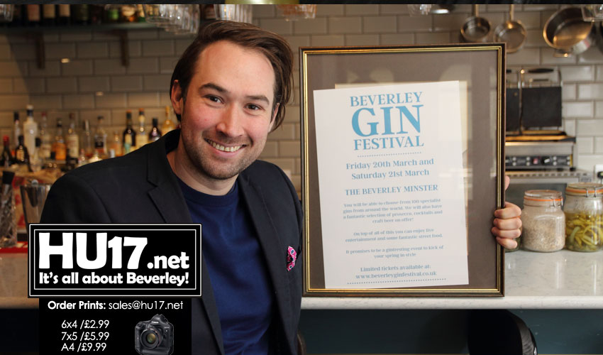 Beverley Gin Festival Set To Raise The Bar With Unique Event