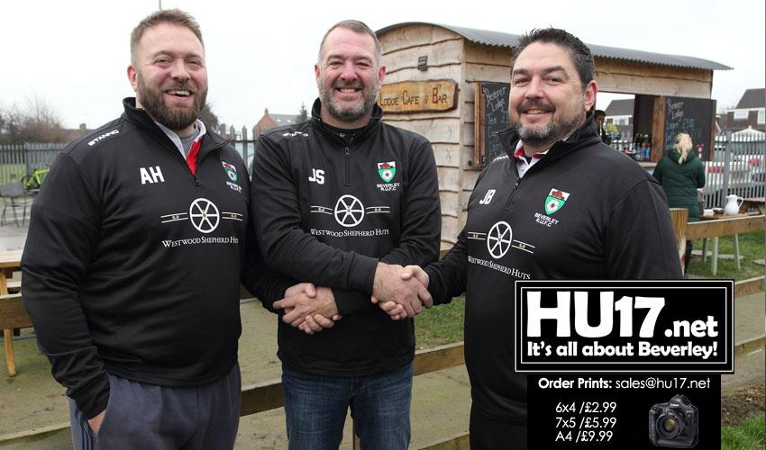 Westwood Shepherd Huts Back Beverley RUFC U14s