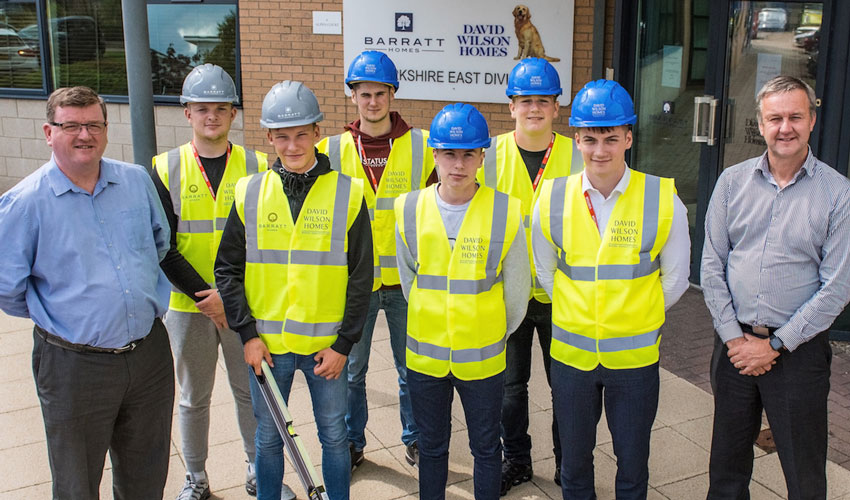 Developer Supports First-Ever Residential Apprenticeship Programme