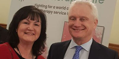 MP Marks World Cancer Day With Beverley Resident Karen Smith