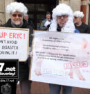 Climate Protesters Send Loud and Clear Message To ERYC