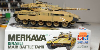 Tamiya Israel Merkava MBT Tank Kit 35127 Build Review & Photos