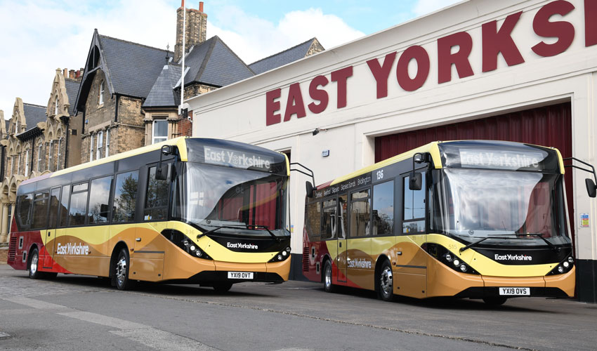 Temporary Changes To East Yorkshire Bus Services