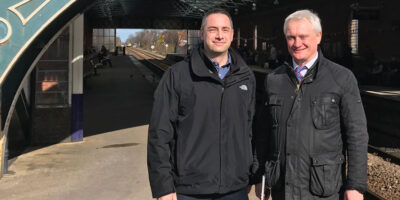 Network Rail And MP Meet To Beverley Railway Station Improvements