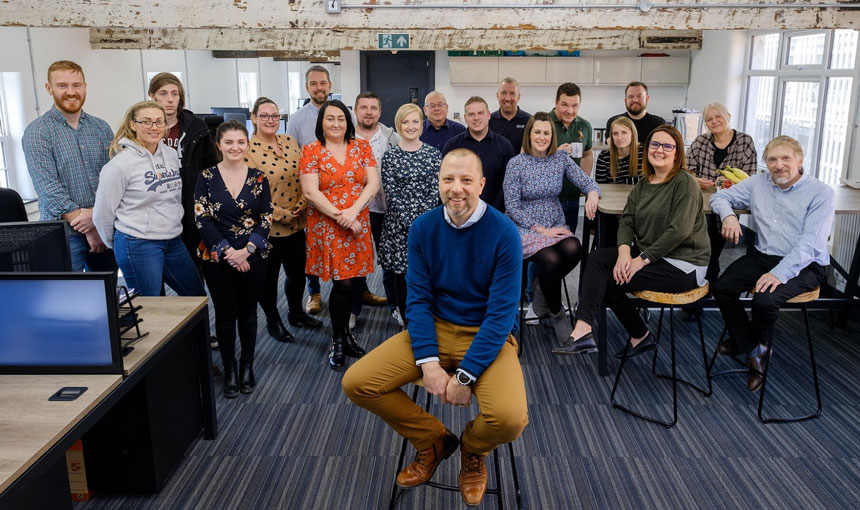 Miller Graphics Moves Into Brand New Home In Revamped Minster House