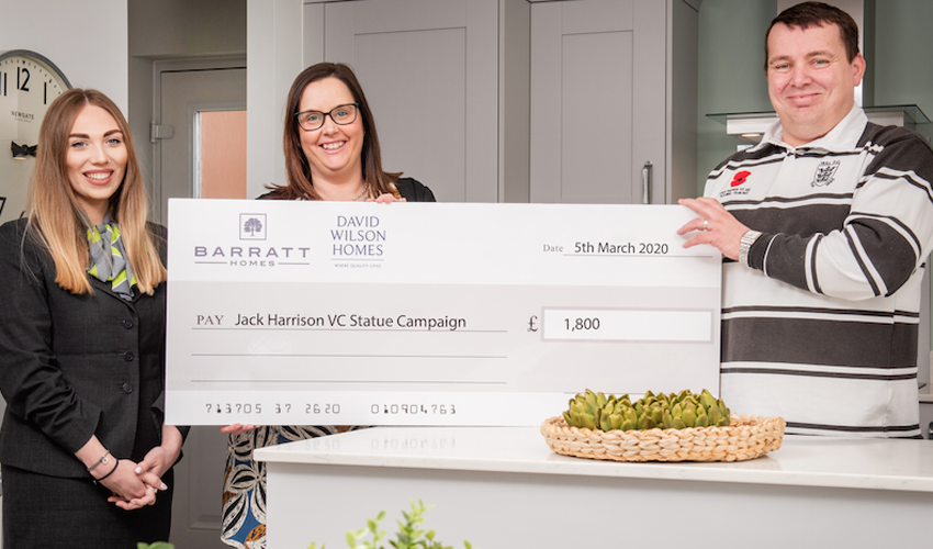 Housebuilder Contributes £1,800 To Honour Hull Hero, Jack Harrison