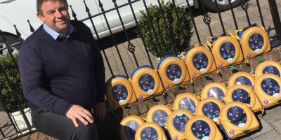 40 Defibrillators Donated By Developer To Help Fight COVID-19 Battle