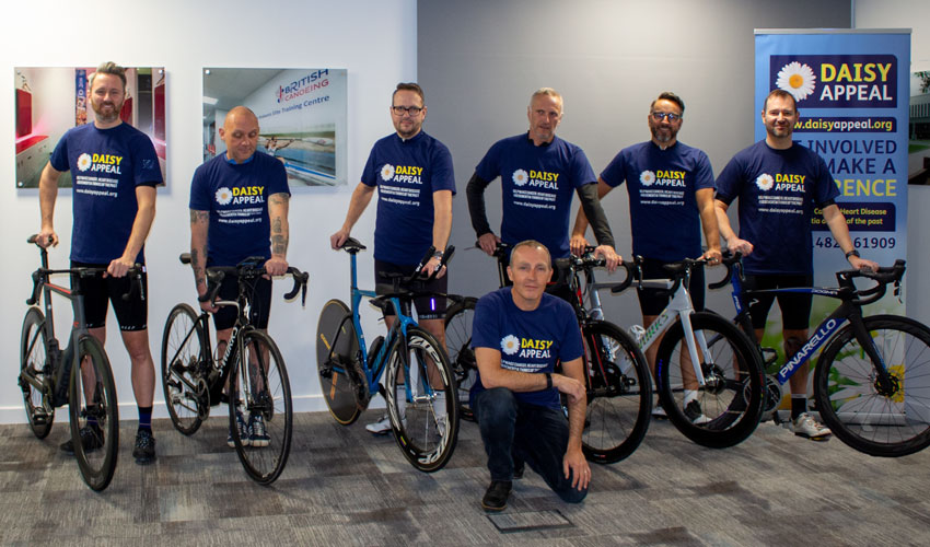 Cyclists To Set New Fundraising Target For Pyrenees Pedal Challenge