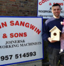 Colin Sangwin Joinery Giving Away Free Bird Box Kits To Local People