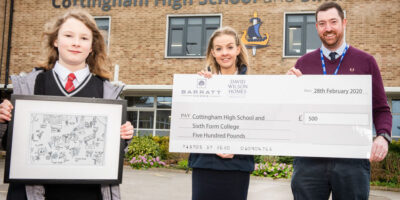 Barratt Homes Donates £500 To Create Own Wildlife-Friendly Garden