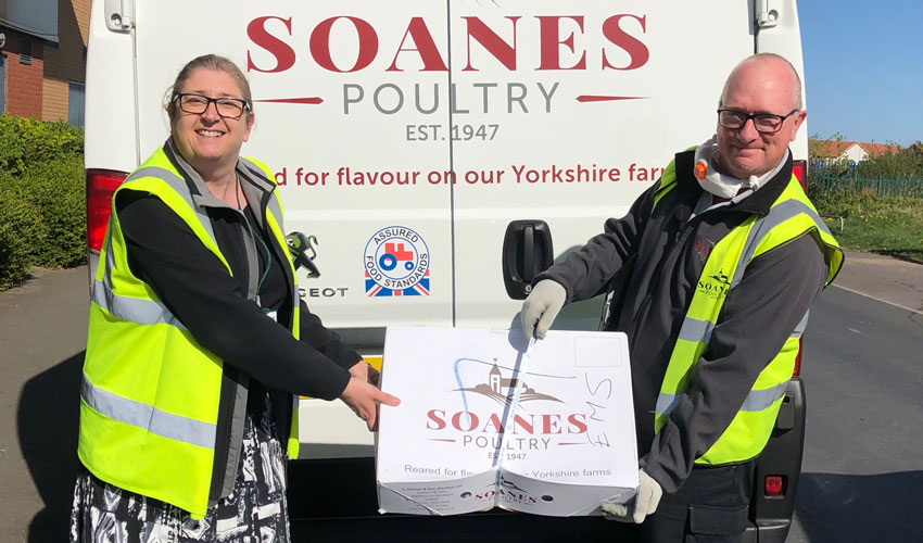 East Yorkshire Poultry Business Helps Hull Charity