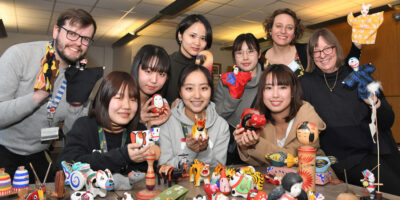 Japanese Students Work With Beverley Art Gallery On A Future Exhibition
