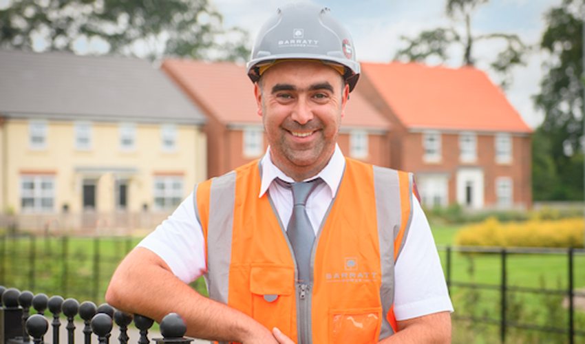 Barratt Developments' Site Managers In Region Recognised As Best In The Country