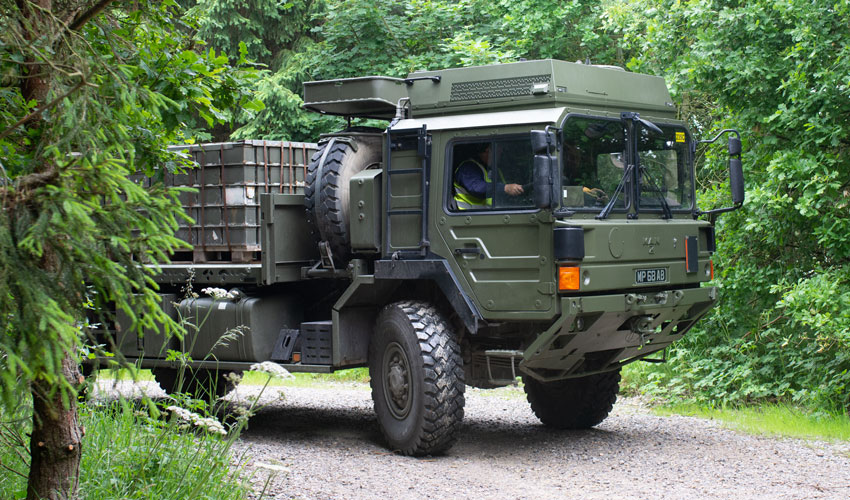 Have You Got What It Takes To Teach Military Personnel How To Drive?