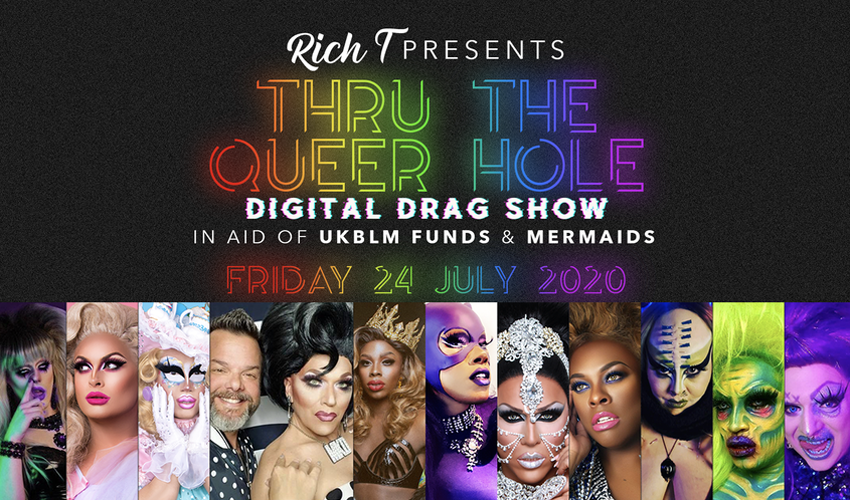 International Drag Showcase Live In Your Living Room!