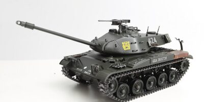 Walker Bulldog Tank - Build Review And Pictures The Tamiya 1/35 M-41
