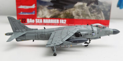 Airfix BAe Sea Harrier FA2 1/72 Build Review and Photos