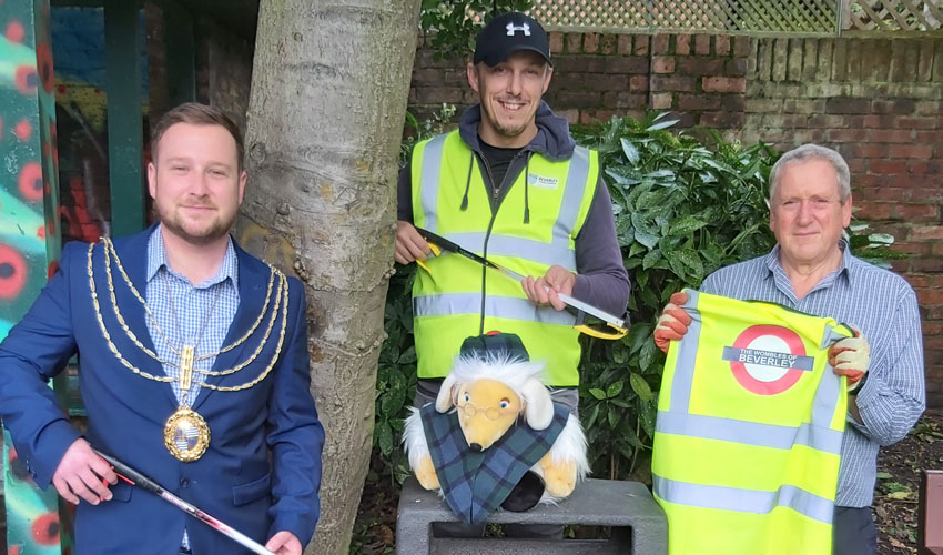 Wombles of Beverley Can Now Be Seen Thanks To Support From Council