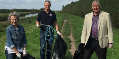 MP Takes To The Streets To Tackle Scourge Of Litter In Area