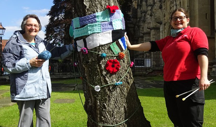 Beverley Minster To Host Yarn Bombing Event In October