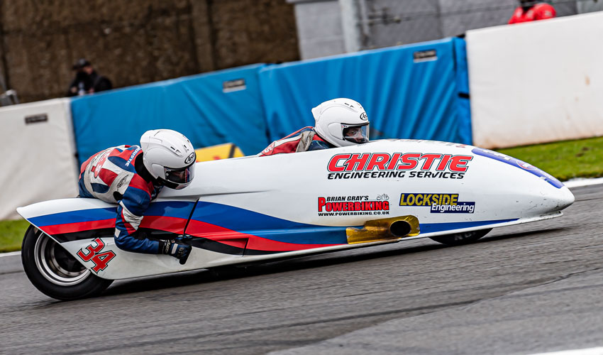 Chrisite Brothers Move Second In British Championship Standings