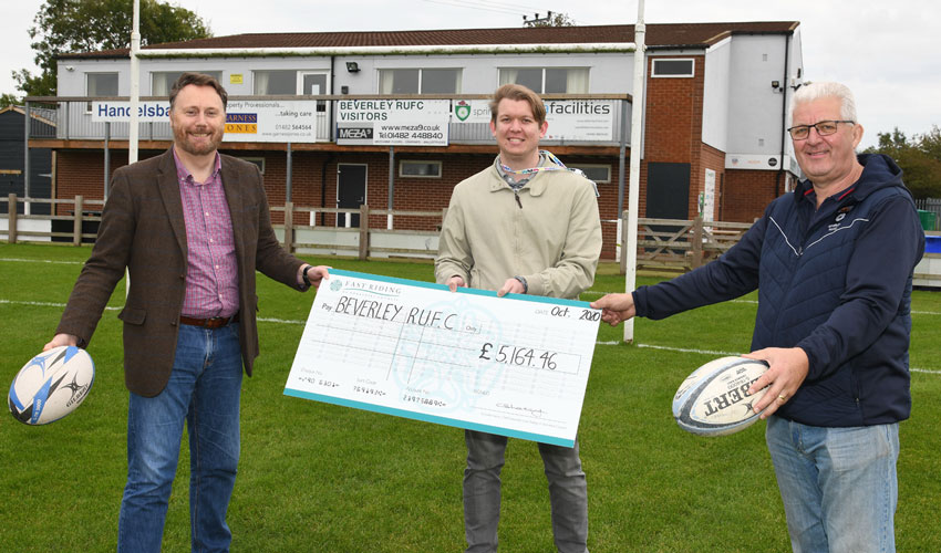Beverley RUFC Get New Posts Thanks To Cash From Commuted Sums