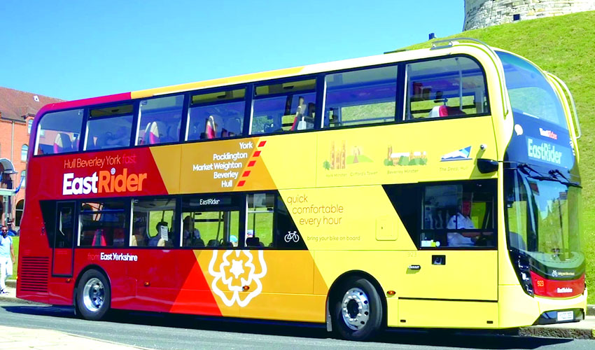 Celebrating Clean Air Day With East Yorkshire's Cleaner, Low-Emission Buses