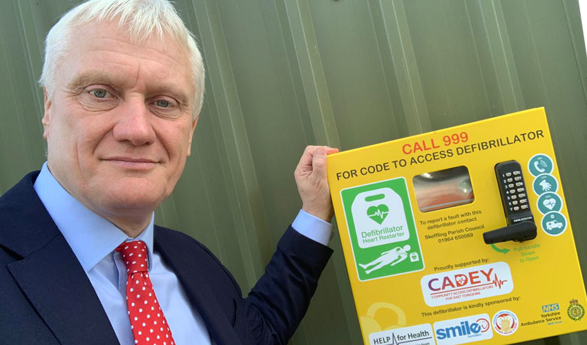 MP Chairs Committee To Improve Life Chances For People Suffering Cardiac Arrest
