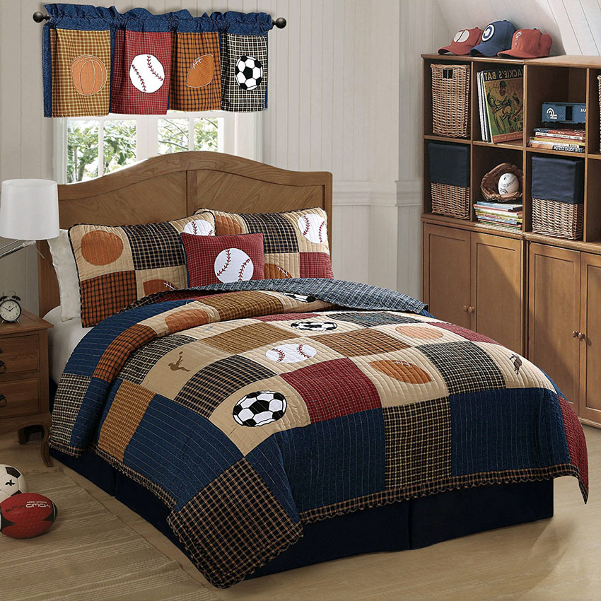 Tips On Designing A Sports Themed Bedroom