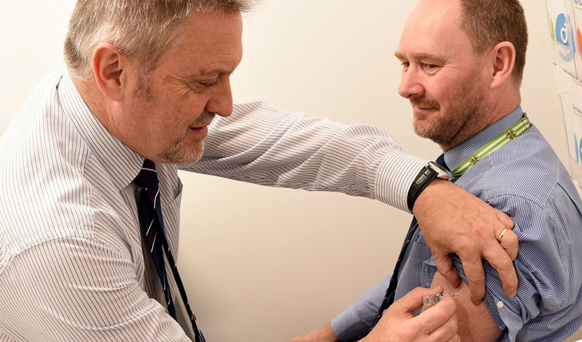 Health Professionals Urge Those Eligible To Get Free Flu Vaccination
