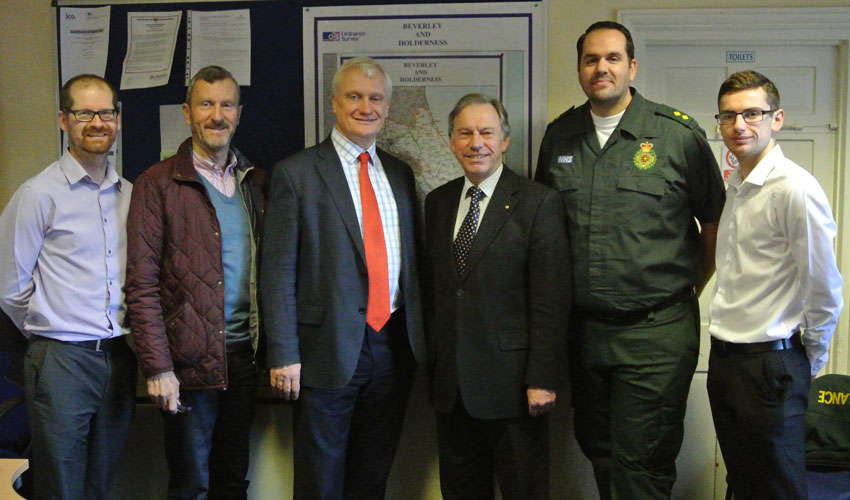 CADEY Committee Meets For Update On Campaign To Boost Lifesaving Defibrillators