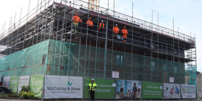 McCarthy And Stone Construction Resumes As Workers Return