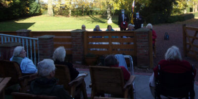 Care Home Residents Mark Remembrance Day With The Royal British Legion