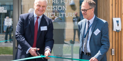 Centre For Precision Agriculture At Bishop Burton College Opened By MP