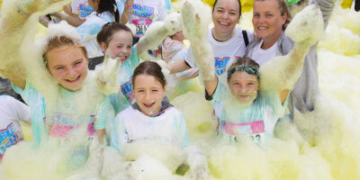 Bubble Rush Announces Marie Curie As Charity Partner For 15 Events In 2021
