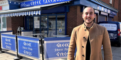 It's All Greek To Stratos As He Steps Up From Street Food To Running His Own Restaurant