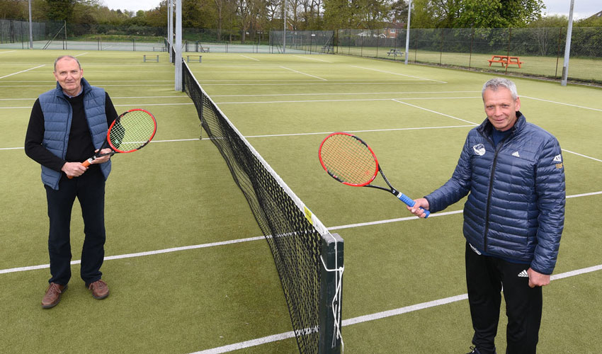 Improvements At Cottingham Lawn Tennis Club Funded By Commuted Sums