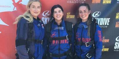 Fundraising Is In The Family For Daisy Appeal Skydivers