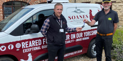 Poultry Business Invests In Fun New Van To Spread The Word