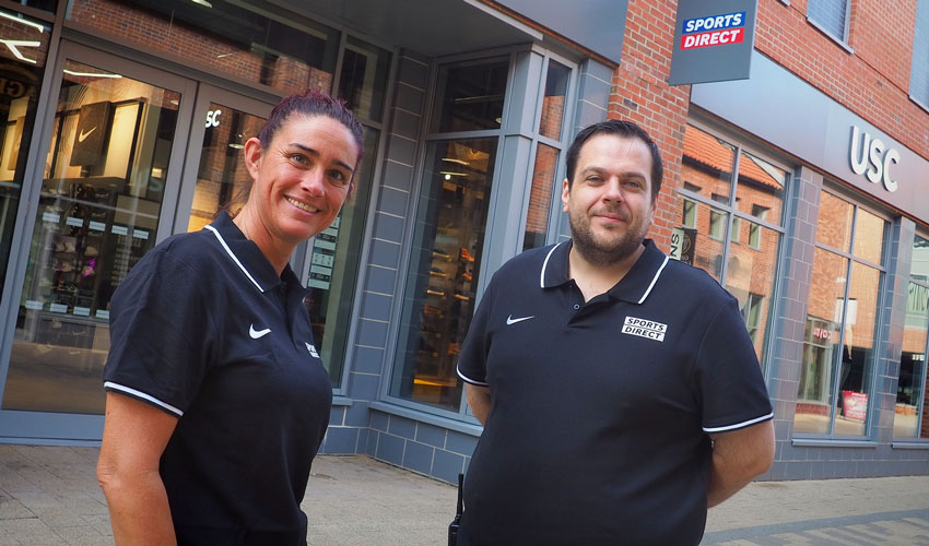 Sports Direct And USC Concept Store Opens At Flemingate